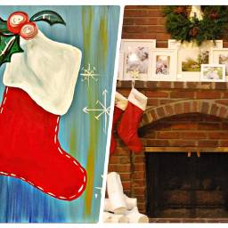 christmas countdowntochristmas christmas2019 collage christmastocking freetoedit ccwintermoodboard wintermoodboard