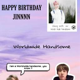 happybirthdayjin jin bts epiphany freetoedit