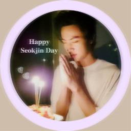 bts jin seokjin birthday freetoedit