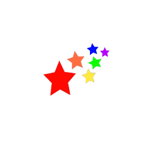 stars colors rainbow colorful beautiful freetoedit ftestickers