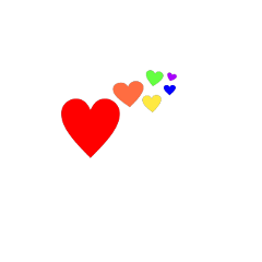 hearts colors rainbow colorful beautiful freetoedit ftestickers