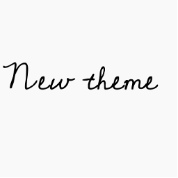 aesthetic font cursive cute theme