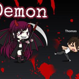 freetoedit gachalife demon dead