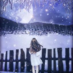 freetoedit vipshoutout fantasy winter