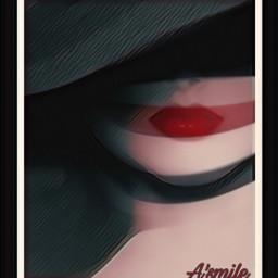freetoedit @asweetsmile1 hat lips lipstick