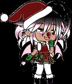 gachalife gacha oc christmas holidays freetoedit