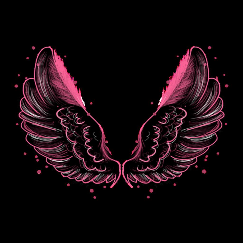 #wings #angel #fairy #fantasy #dressup #costume #pink #black