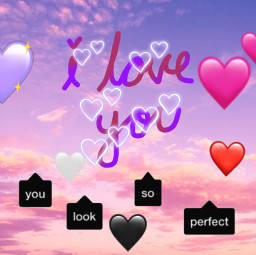 freetoedit hearts love iloveyou youlooksoperfect srccallout callout