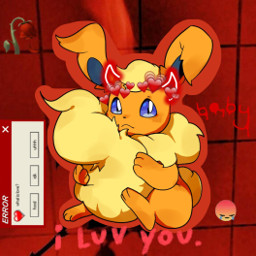 eeveelution fire flareon freetoedit