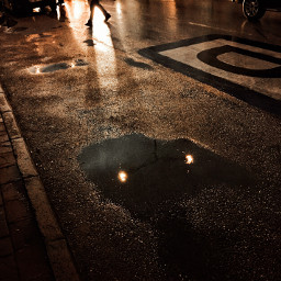 street night rainyday
