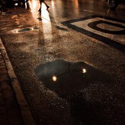 street night rainyday