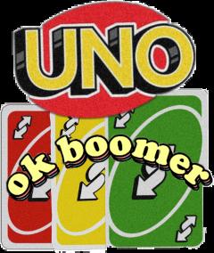 uno okboomer reverse freetoedit