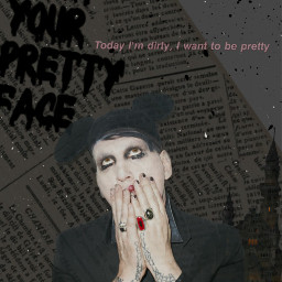 freetoedit marilynmanson gothic vintage
