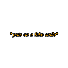 mood fakesmile sad oof yellowaesthetic freetoedit