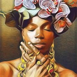 freetoedit @asweetsmile1 queen princess africanart