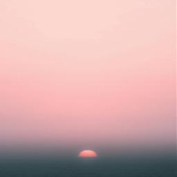 nature sun setting horizon settingsun freetoedit