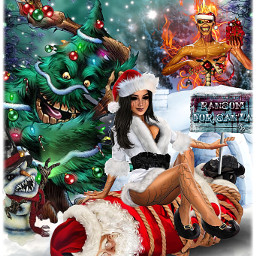 freetoedit myedit christmas ransom lol