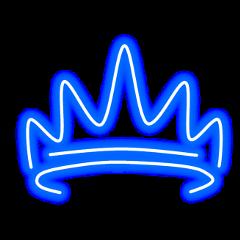 neon light crown freetoedit