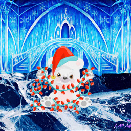 freetoedit icecrack challenge polarbear castle ircicecrack