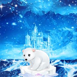icecrack challenge polarbear castle mountainview ircicecrack freetoedit