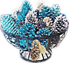 hdreffect maskeffects pinecones basket painted scpinecone freetoedit