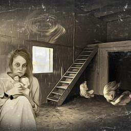 freetoedit insane mad horror dark