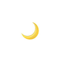 moon yellow aesthetic iphone sticker freetoedit
