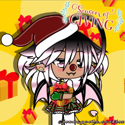 ibispaintx gachalife seasonofgiving december christmas