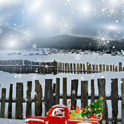 freetoedit vipshoutout winter snow snowflakes