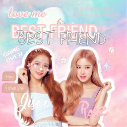 freetoedit kpop blackpink bestfriend background