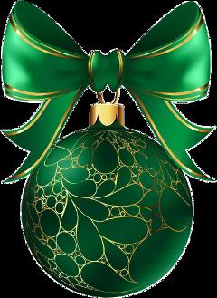 christmasornament merryxmas christmasballs merrychristmas green&gold freetoedit