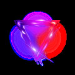 ftestickers triangle lights neon luminous freetoedit