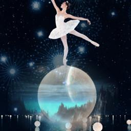 freetoedit sky ballerina