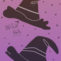 art freetouse hats people witches freetoedit