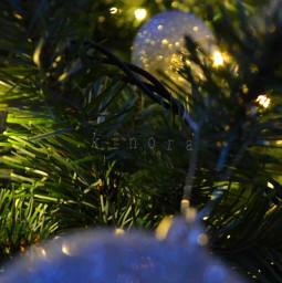 christmastree decorated christmasballs myphoto kinora freetoedit