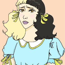 melaniemartinez pacifyher digitalart drawing
