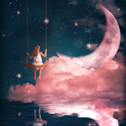freetoedit fantasy dream moonart