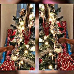 freetoedit armani christmas christmastree love