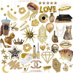 freetoedit gold golden goldaesthetic goldenaesthetic
