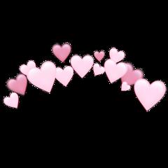 heartjoon pastel heart crown freetoedit