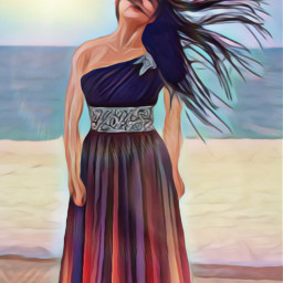 freetoedit colorful oilpaintingeffect magiceffects lensflare ircwindyportrait windyportrait