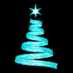 swirl christmastree freetoedit