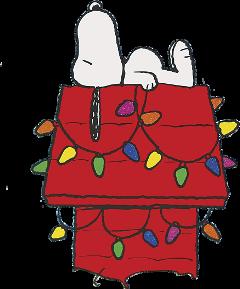 snoopy christmas freetoedit