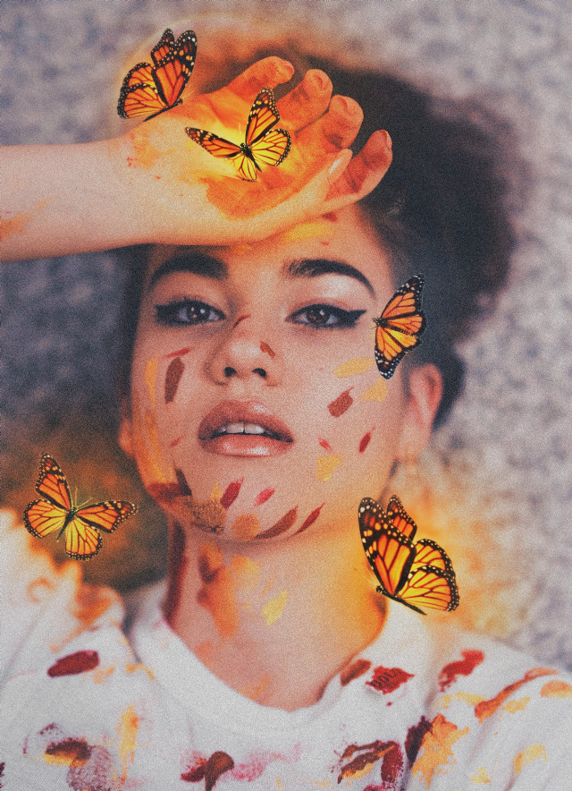 #freetoedit #girl#butterfly#paintstroke#vintage#retro#paint#feminism#magic#sparkle#brown#woman#lipsteak#playingwithpicsart #like#followme #noise#myedit@picsart@freetoedit@picsartchina