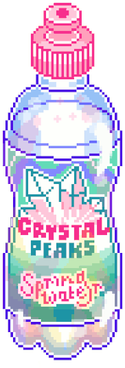 pixelart drink aesthetic bright anime freetoedit