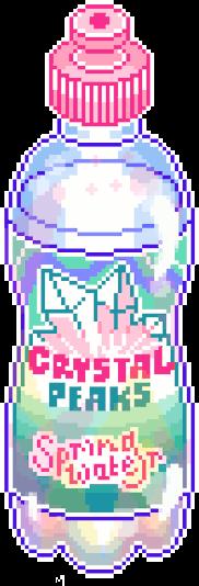 pixelart drink aesthetic bright anime freetoedit