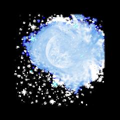 sky stars moon luna freetoedit