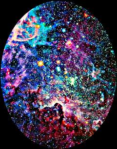 oval shapemask galaxy stars freetoedit