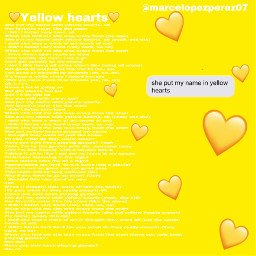 yellow hearts yellowhearts lyrics yellowheartslyrics freetoedit