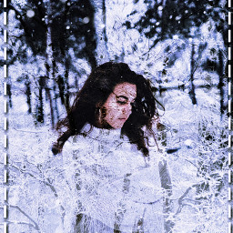 freetoedit snow girl cold winter ircinthesnow
